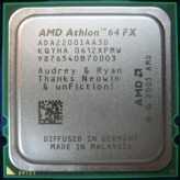 Engraved AMD Chip